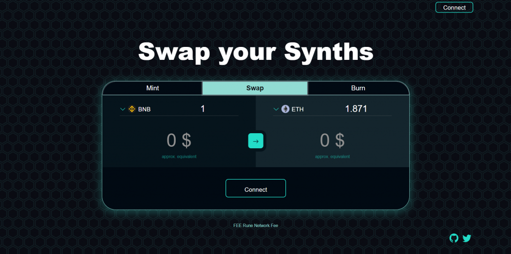 Brokkr's synthetics swapping interface